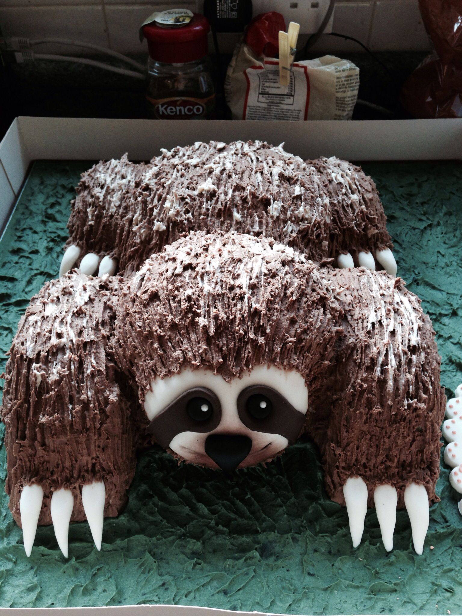 Amazing Sloth Birthday Cake For My 40th
