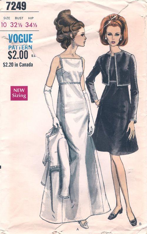 Vogue 7249 - Vintage Sewing Patterns