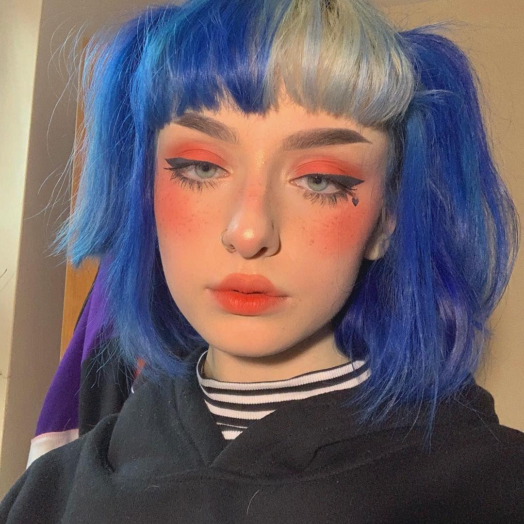 Click The Link In The Bio If U Wanna See Me Create This E Girl Makeup Look Hahahahahah Girls Makeup Cute Makeup Aesthetic Hair