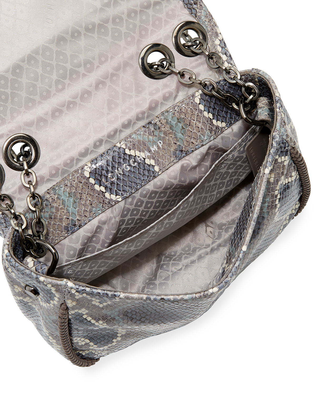 1ed4a19c44b9 Longchamp Amazon Python Mini Crossbody Bag