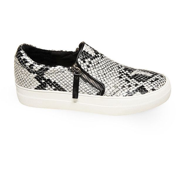 Steve Madden Women's Glammar Sneakers ($70) ❤ liked on Polyvore featuring  shoes, sneakers
