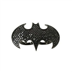 nOir Jewelry Batman ring nanananananananaBATBOARD Pinterest