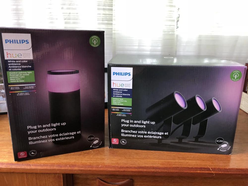 Philips Hue outdoor light review Bollards & Spotlights in