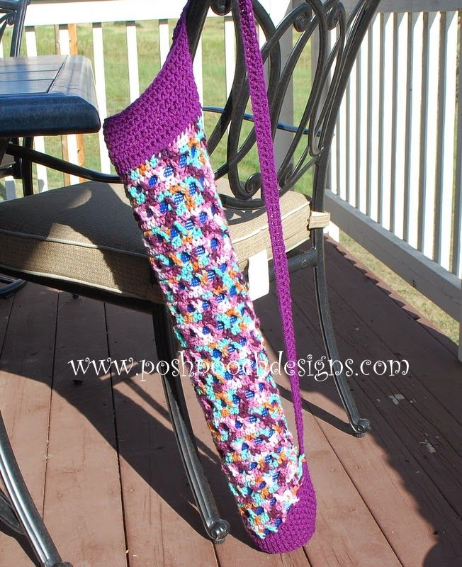 My Exercise UPdate and A Yoga Mat Crochet Pattern