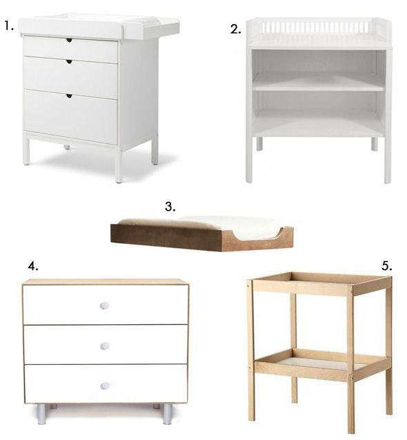 Home dresser and changer, baby changing table, nursery room, baby ...
