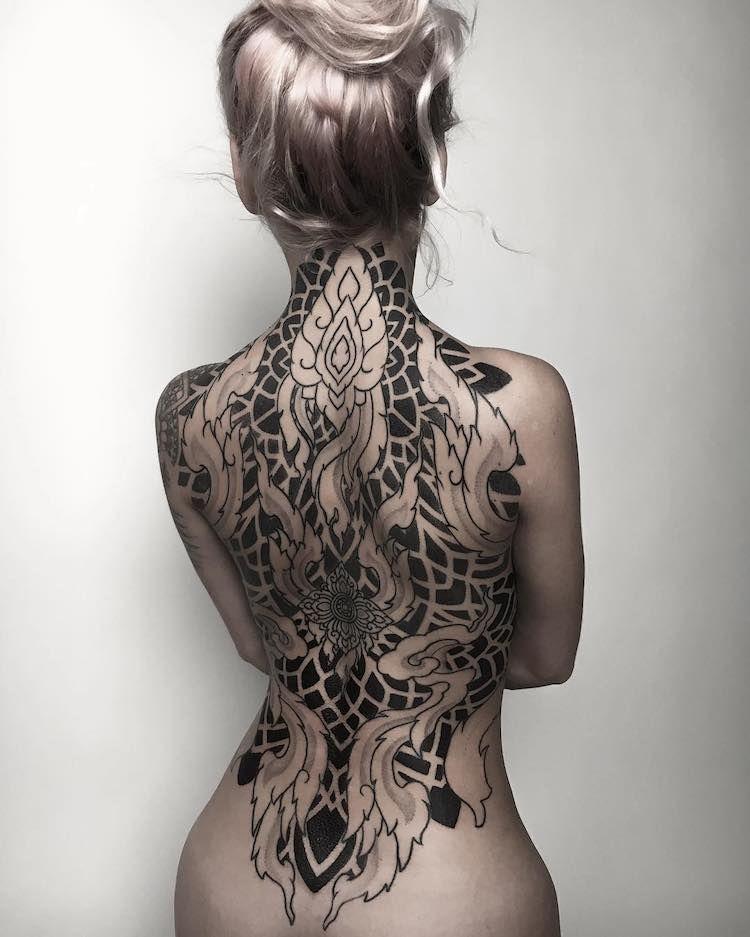 Les Tatouages De Mandalas De Corey Divine 2tout2rien Tatoo