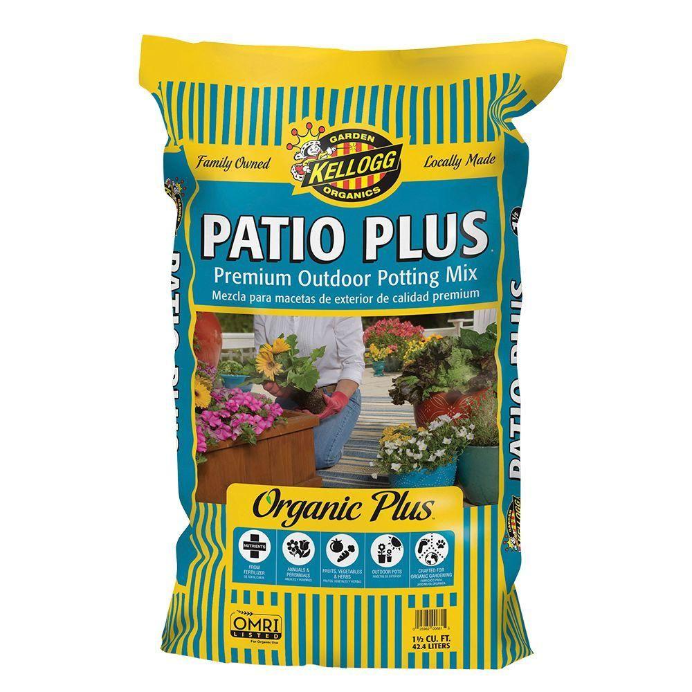 Kellogg Garden Organics 37.5 Qt. Patio Plus Premium