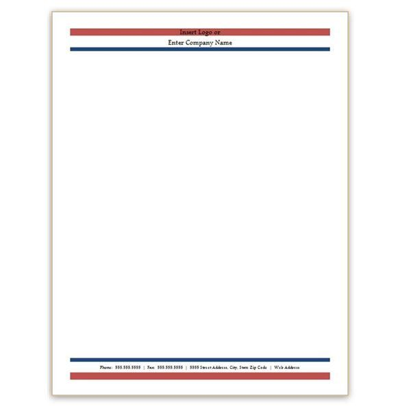 Free Professional Letterhead Templates for trucking Six Free - free business stationery templates for word