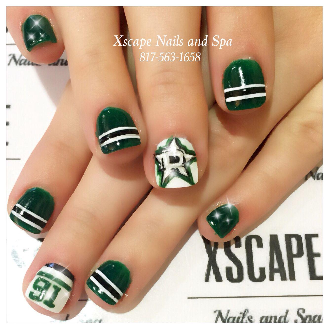 Dallas star nails | Cute Nails Designs | Pinterest | Dallas, Star ...