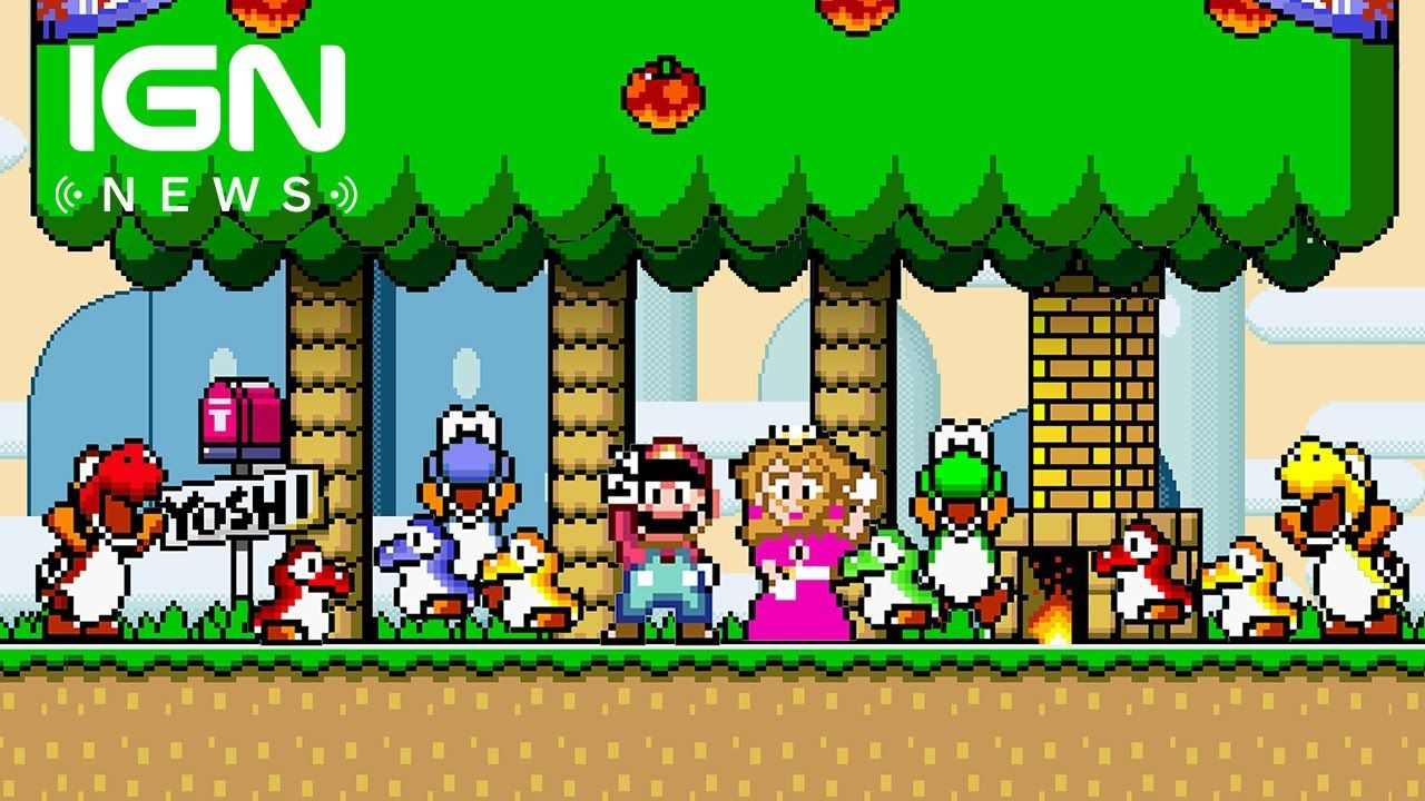 Zelda Metroid Earthbound More Snes Games Headed To New 3ds Virtual Console Ign News Super Mario World Super Mario Toys Super Mario