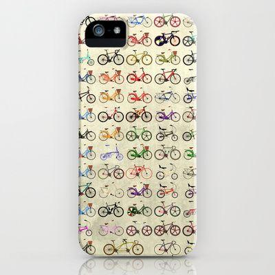 Bikes iPhone & iPod Case by Wyatt Design - $35.00