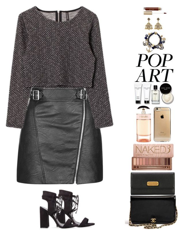 """""""Stay a second, just take. you time!"""" by anaalsan on Polyvore featuring Agent 18, Marc by Marc Jacobs, Topshop, Prada, Urban Decay, Chanel, Bobbi Brown Cosmetics, Etro and Stila"""