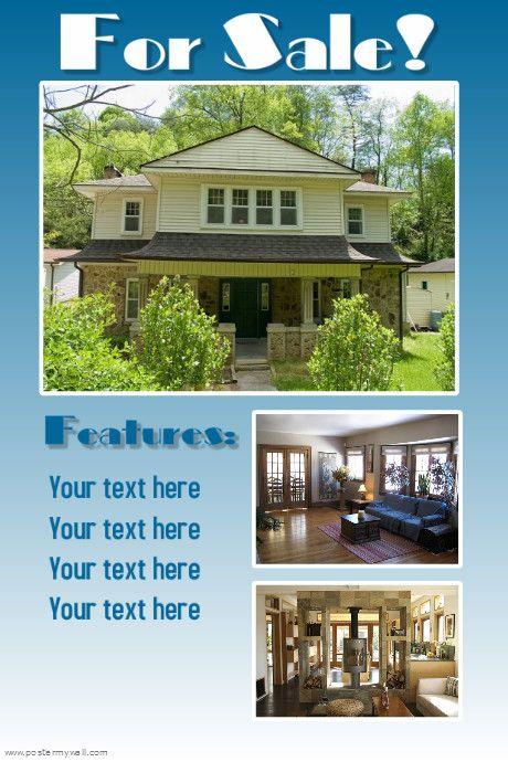 real estate flyer idea