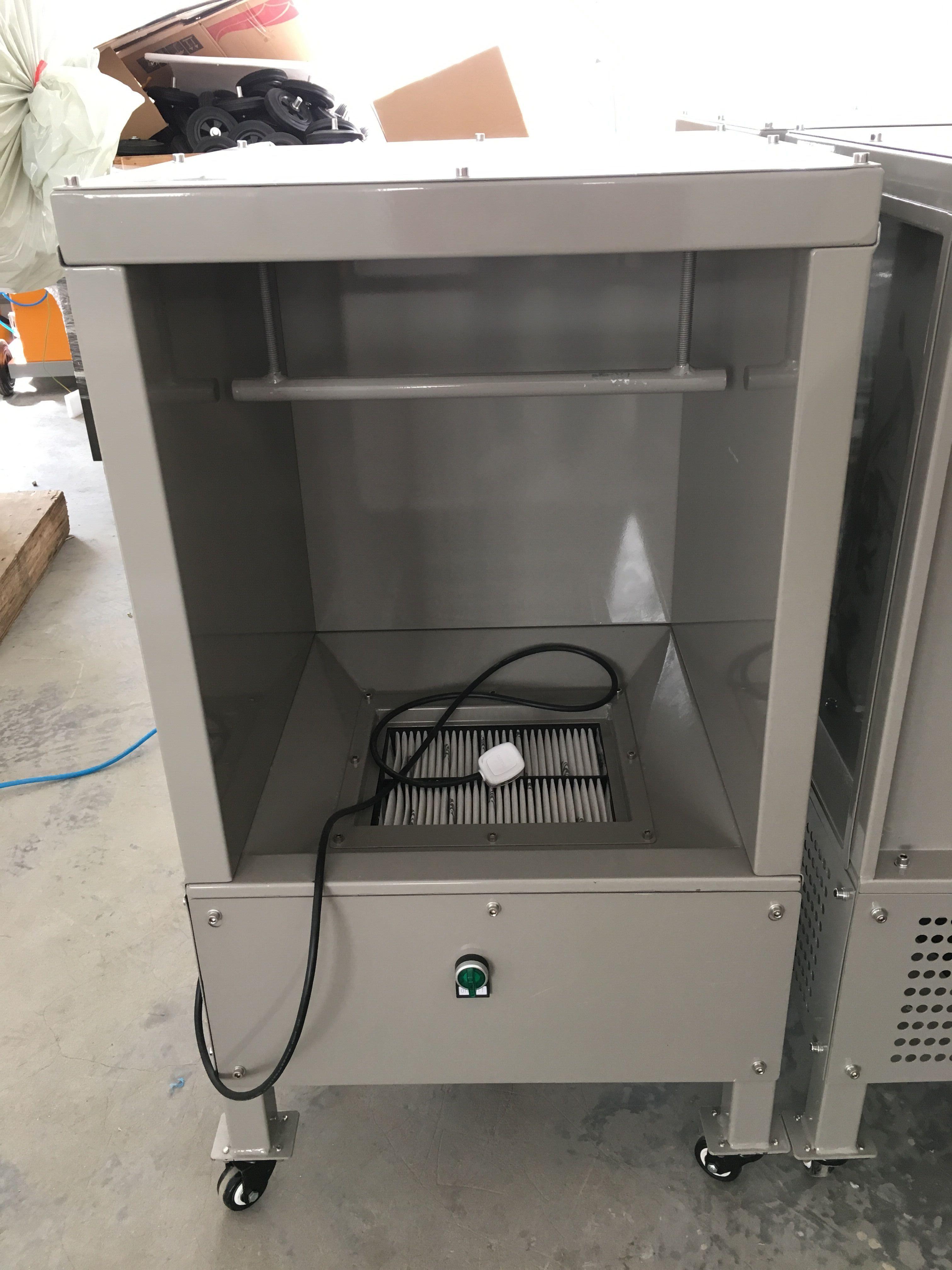 standard powder coating booth, homemade powder coating booth, powder spray booth filter