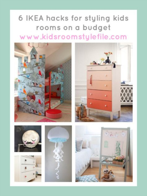 6 IKEA hacks for styling kids rooms on a budget, IKEA hacks, Kids Interior Design #IKEAhacks #IKEA