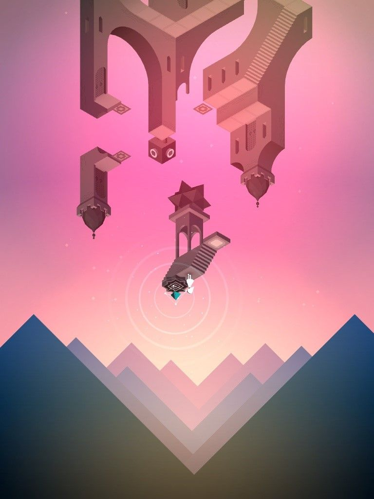The Game Art Monument Valley Game Android Art