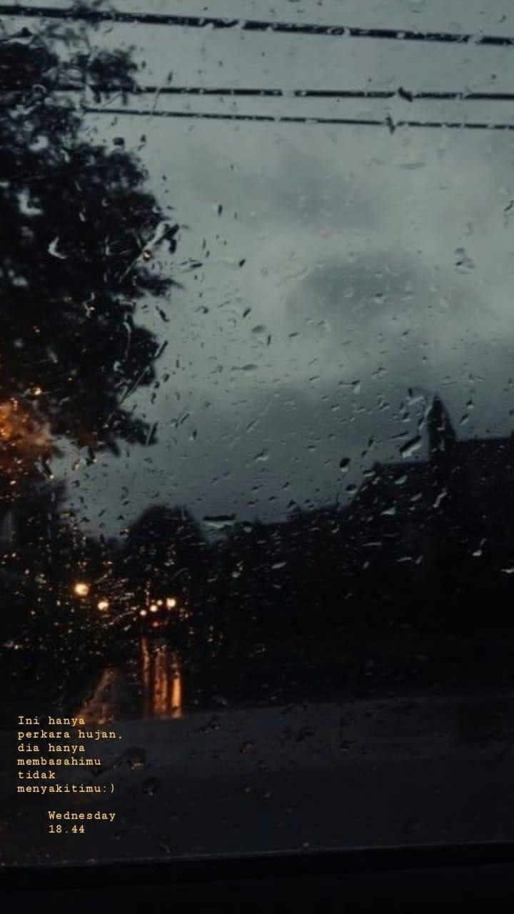 Pin Oleh Yosefina Di Quotes Pemandangan Hujan Fotografi Alam