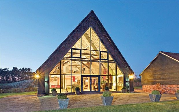 On The Property Market Top Ten Barn Conversions Barn House And