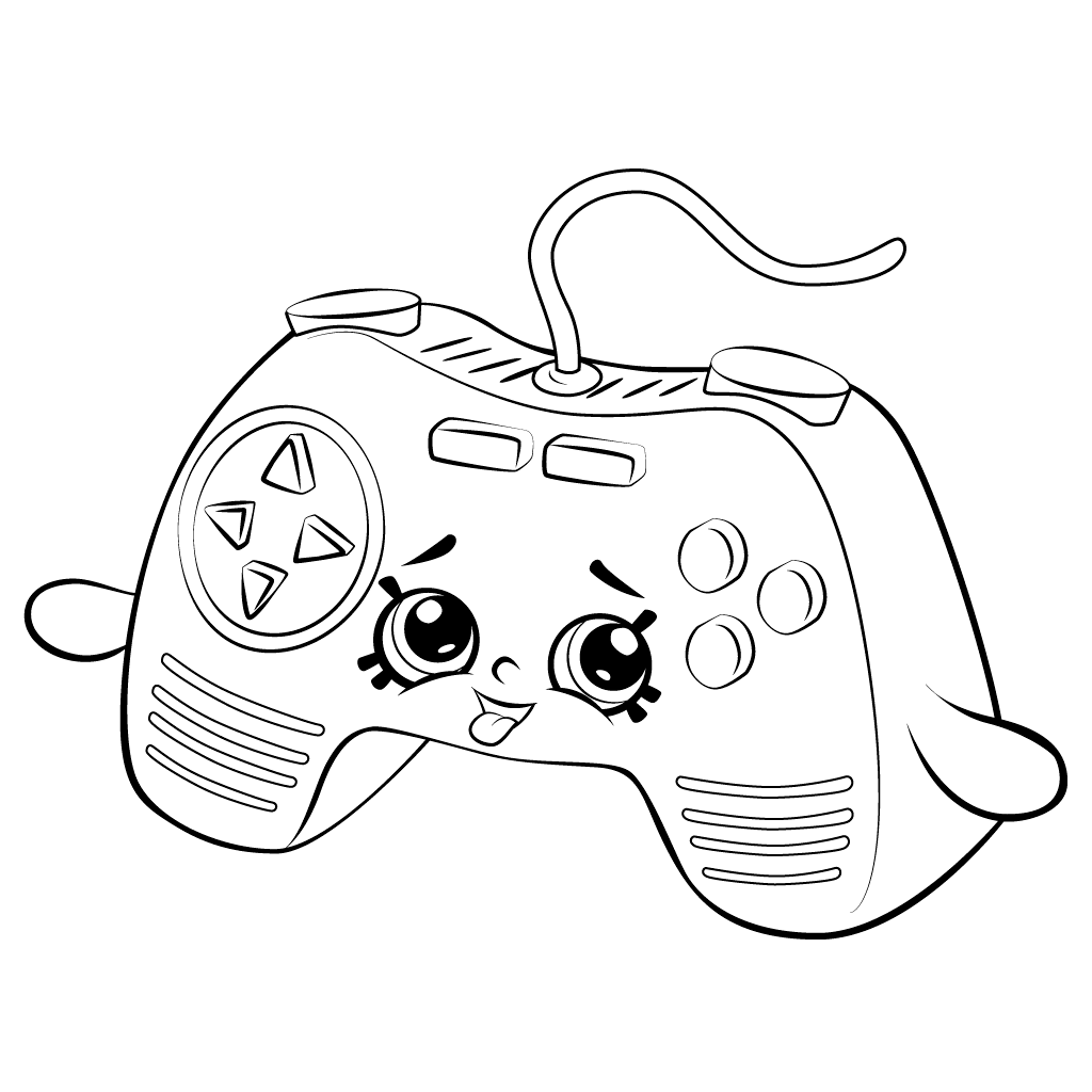 Video Game Coloring Pages Best Coloring Pages For Kids Shopkins Colouring Pages Cute Coloring Pages Shopkin Coloring Pages