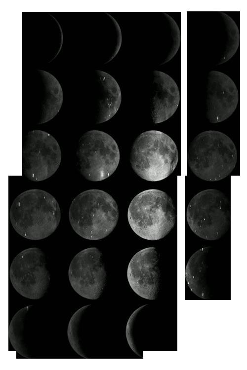 Резултат с изображение за moon phases png