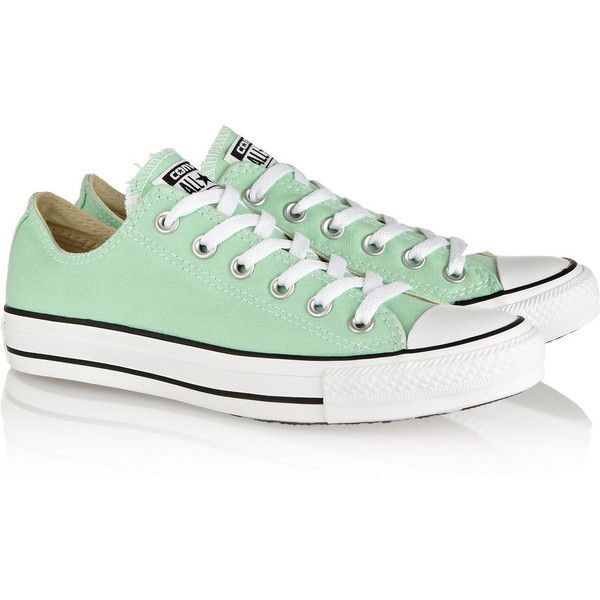 df65c633a203 Converse Chuck Taylor All Star canvas sneakers (42 AUD) ❤ liked on Polyvore  featuring