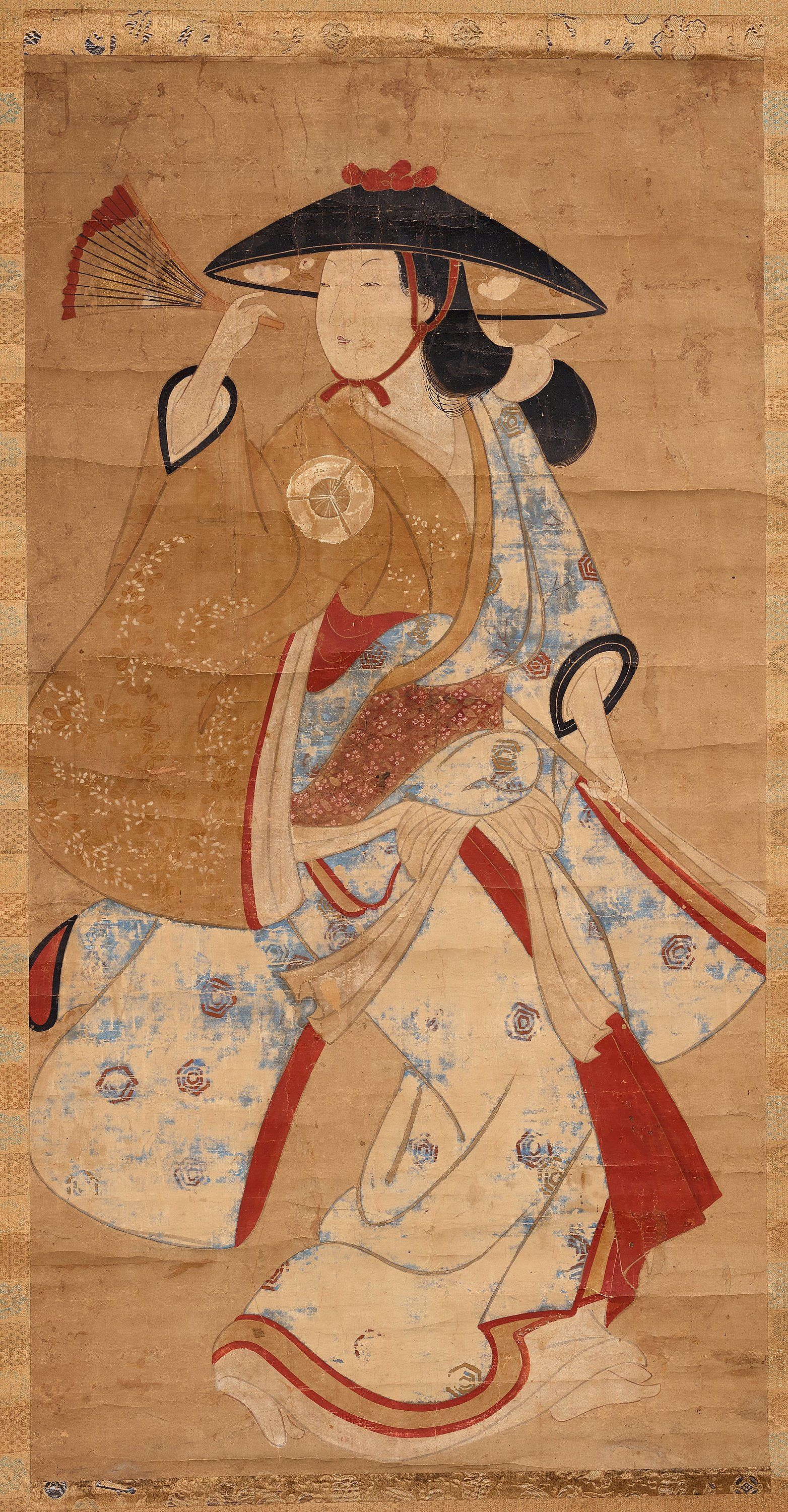 Unknown Artist, Hanging Scroll, Early 18Th C, 47X91 Cm