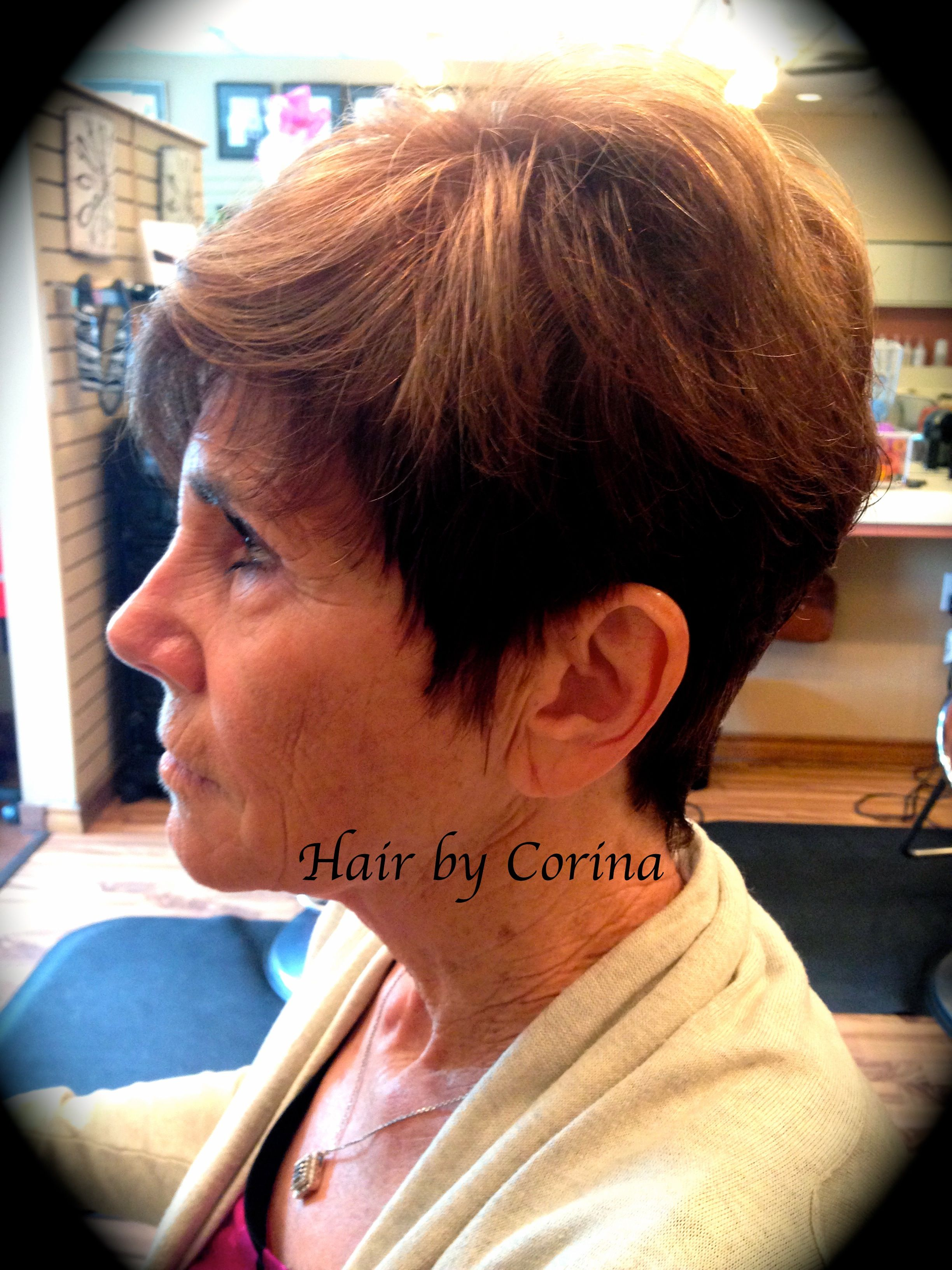 Dixon Hair Color And Cut By Corina Hair Color Pinterest