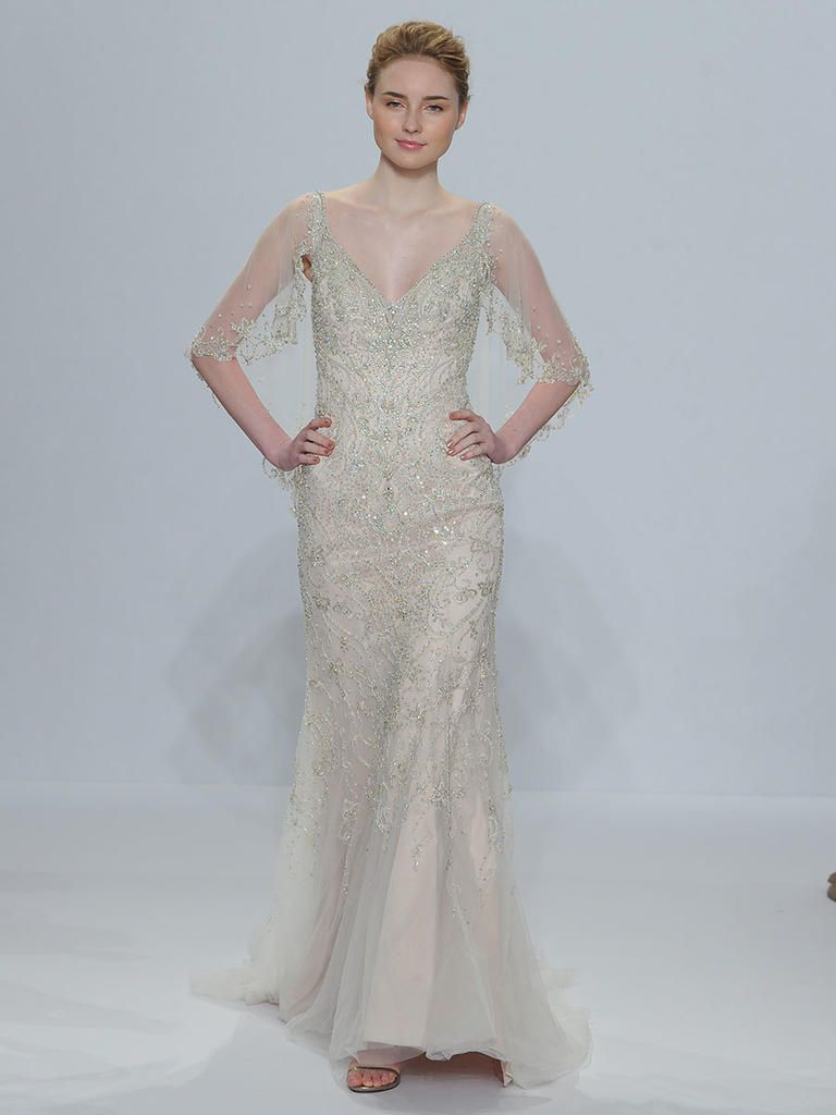 Randy Fenoli Spring 2018: Shimmering Wedding Dresses Make a ...