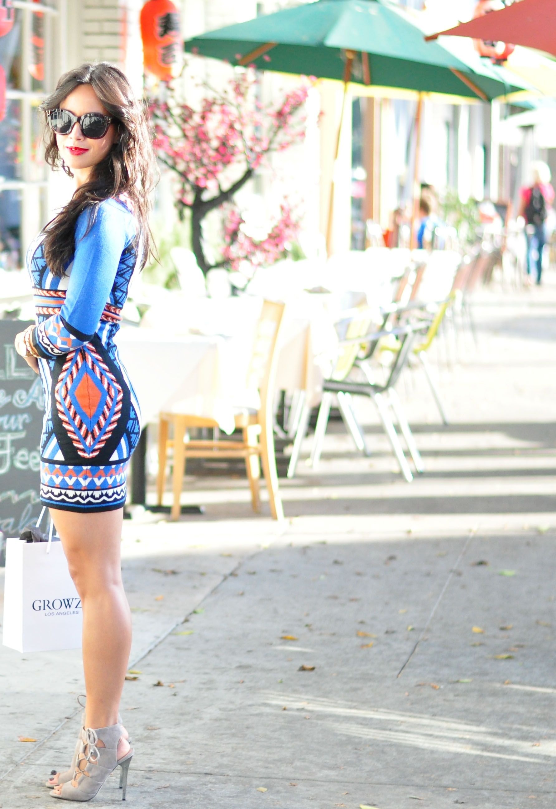 Ethnic Patterned Dress | The Shopping Bag | On Toto's Life & Style ...