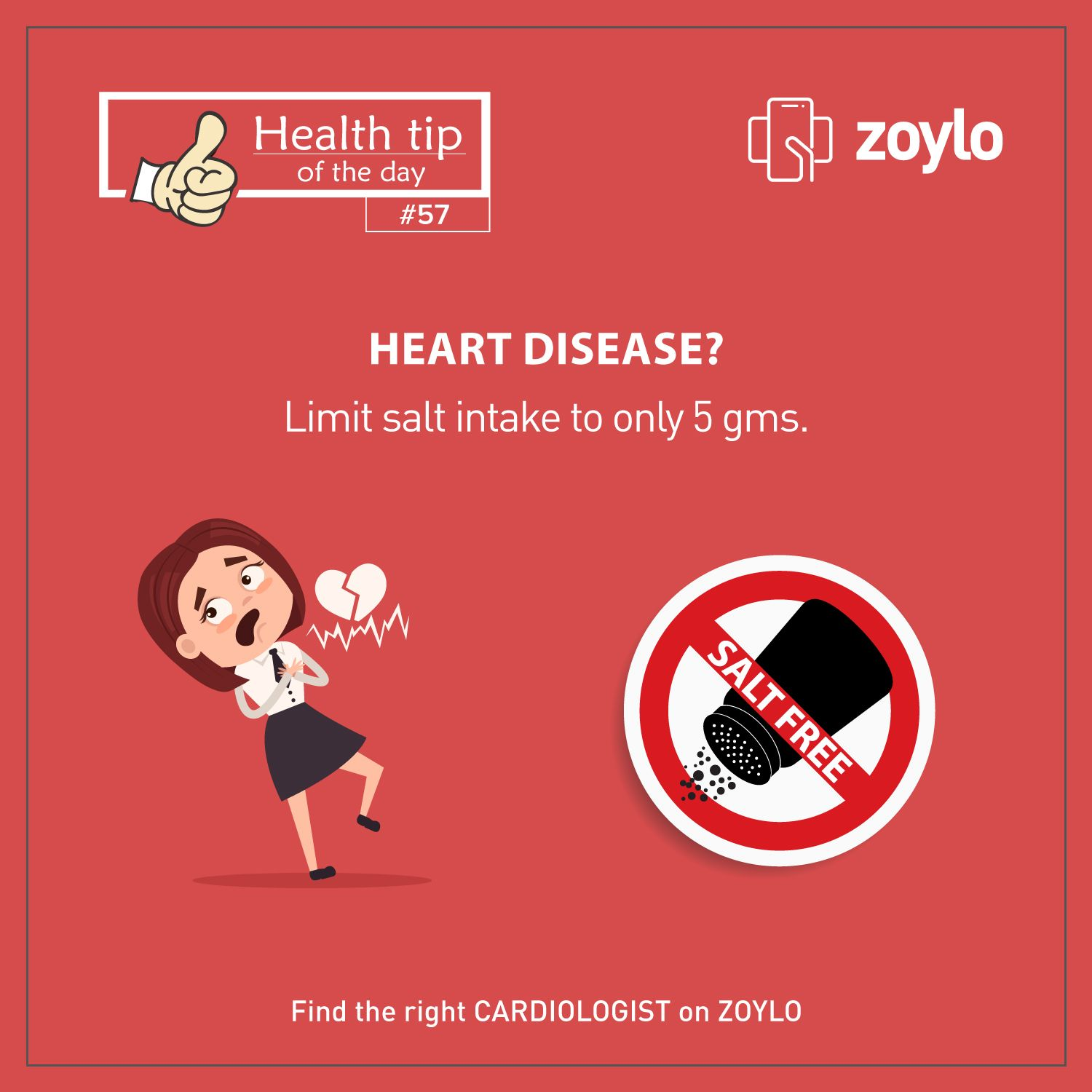 Too much of salt has adverse effects on health. Limit your