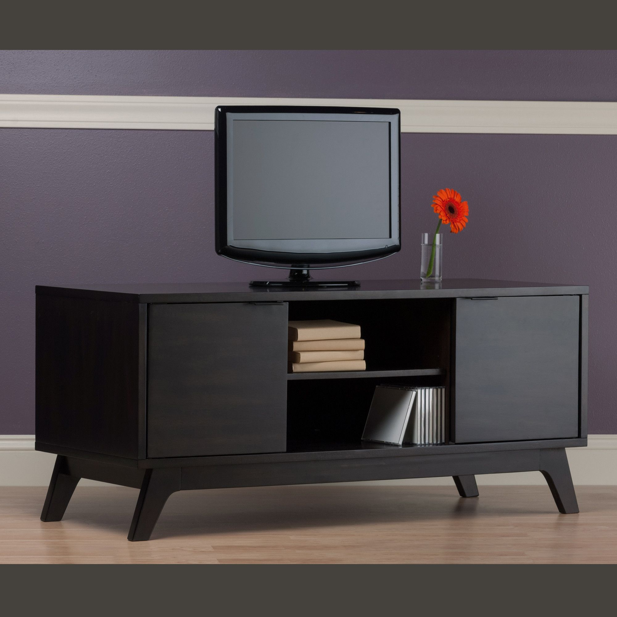 Mercury Row Monty Tv Stand Allmodern With Images Modern Tv
