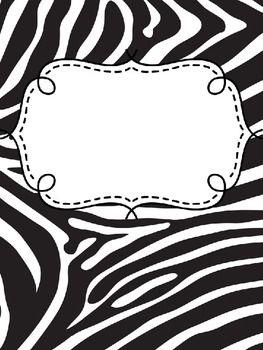 Binder covers animal print editable ppt file binder and filing binder covers animal print editable toneelgroepblik Images
