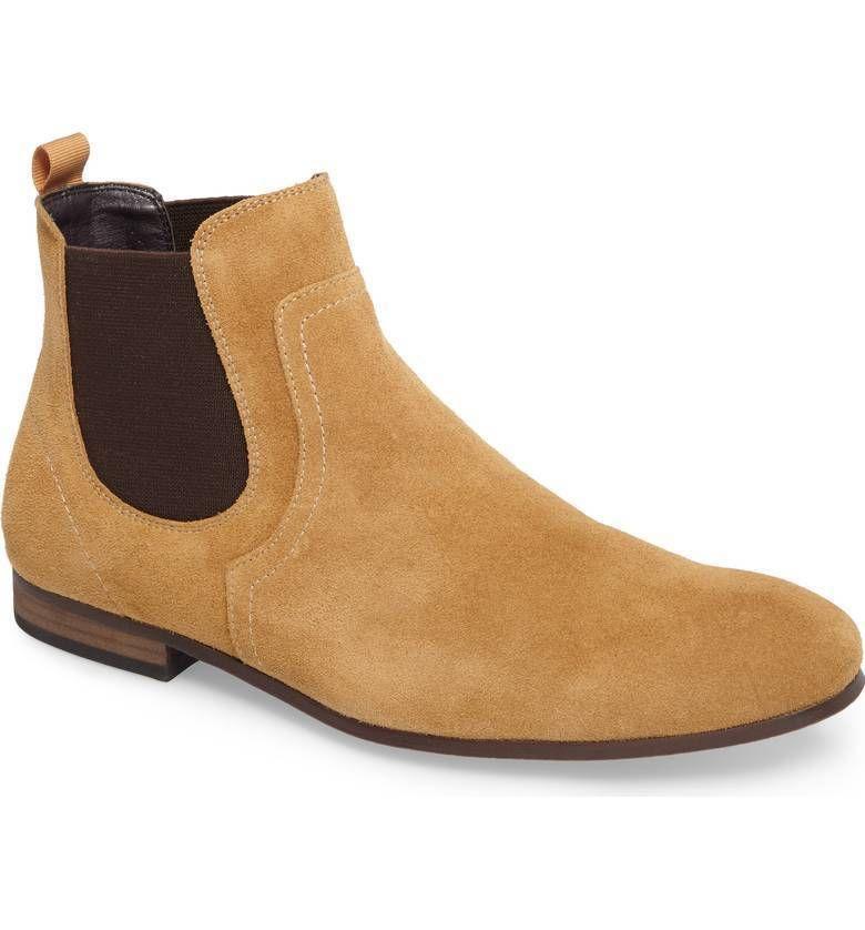 The Rail Msbrysen Tan Suede Men S Mens Dress Shoe Size 12 12 5us 46ue Ebay Chelsea Boots Chelsea Boots Men Boots