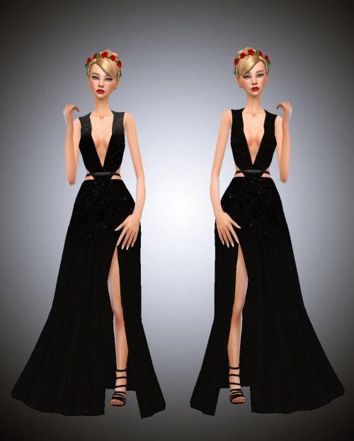 e855d386d4fa Sims 4 long dress cc   rs