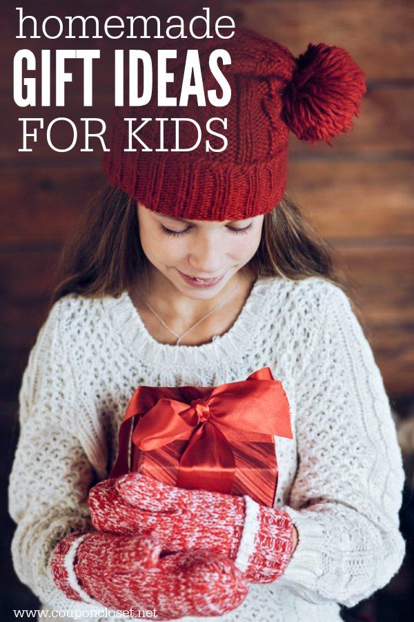Homemade gifts for kids - Homemade christmas gifts for Kids | One ...