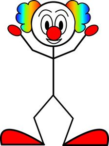 i'm down with the clown.....................Crazy Woman Clip Art ...