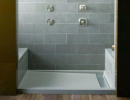 Pre Made Or Tile Shower Floors Which Is Right For Your Dream Shower Shower Tray Shower Pan Shower Base