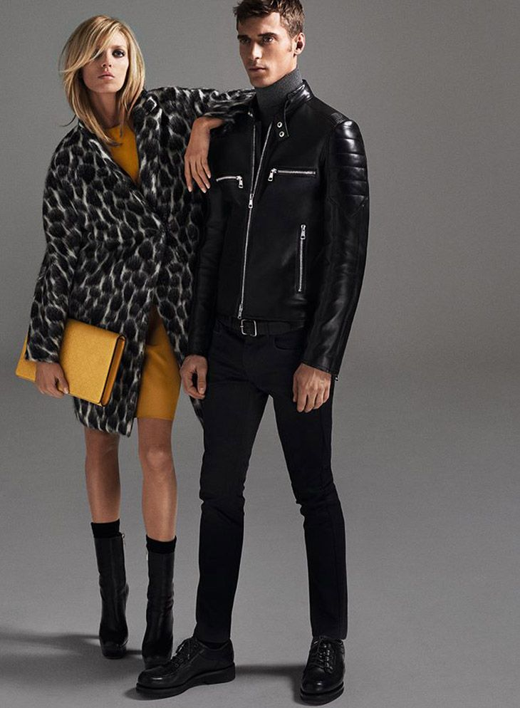 Anja Rubik & Clement Chabernaud for Gucci Pre Fall 2014