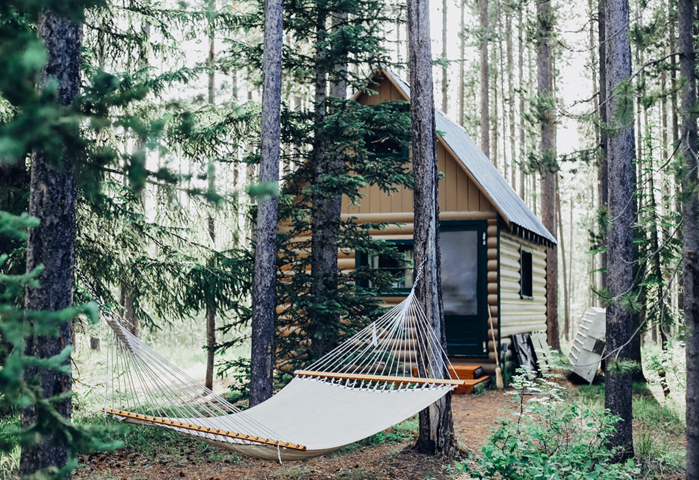 Truly Portable Air Conditioner...Cabin in the Woods