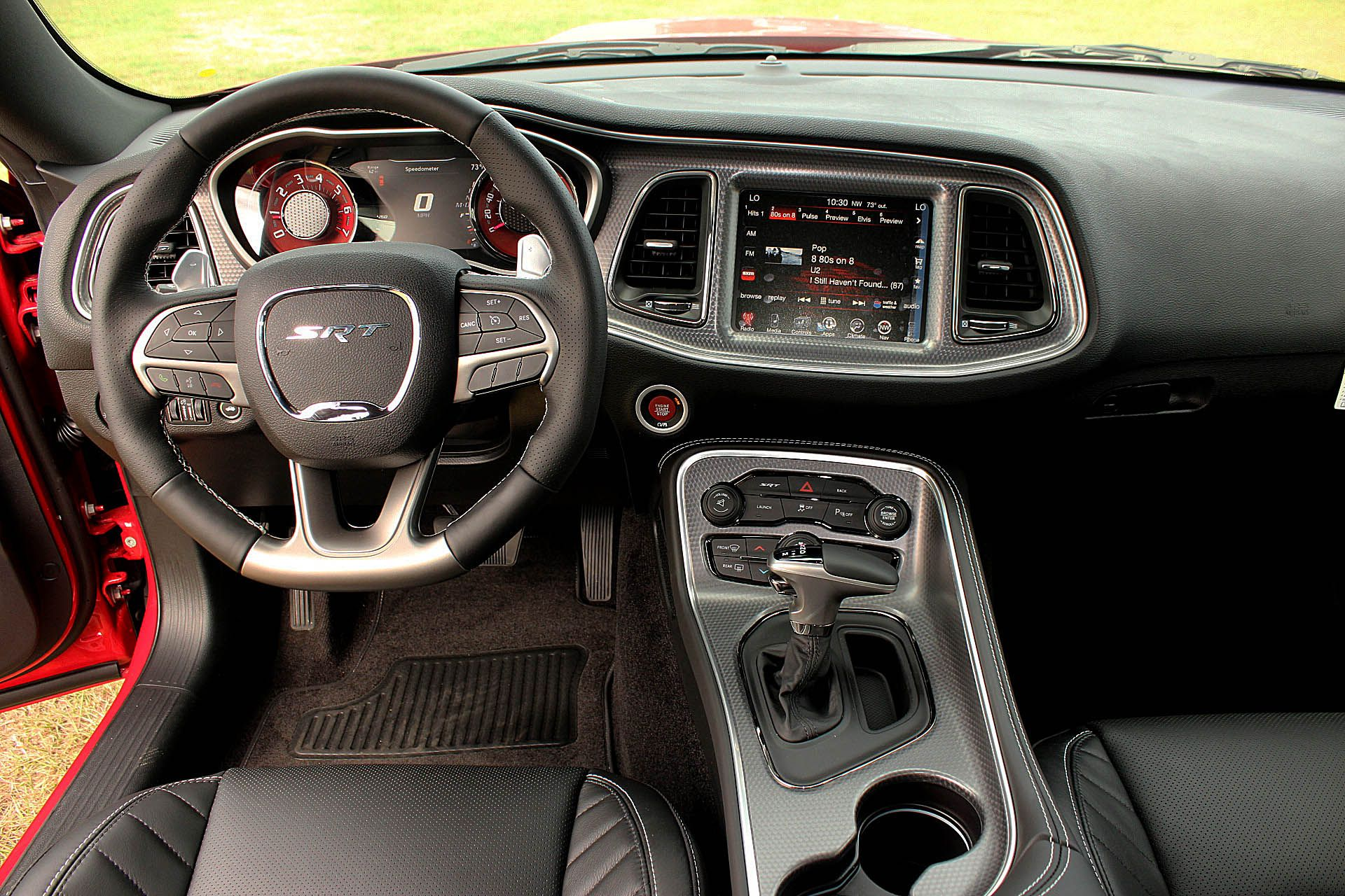 2016 Dodge Challenger SRT. #interior