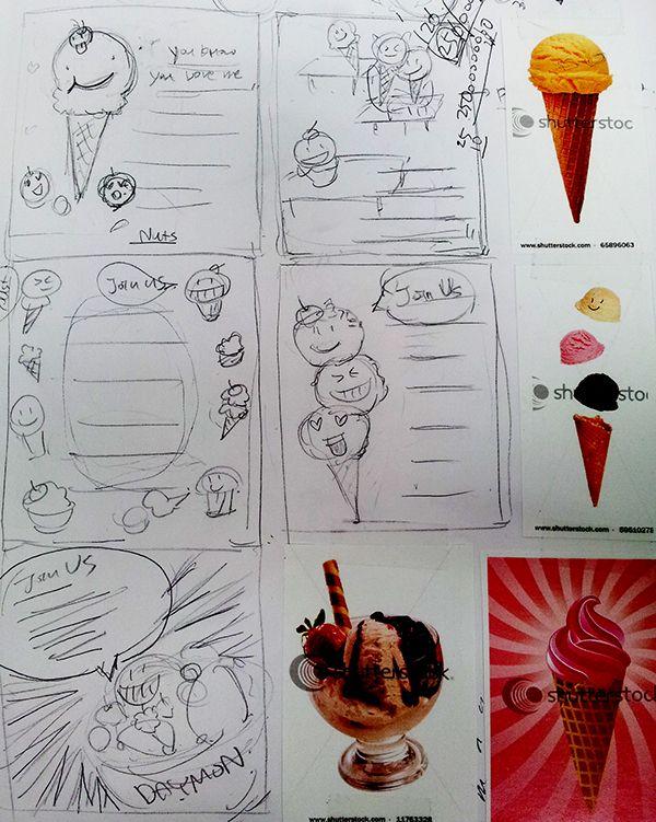 Ice cream Ice cream on Behance