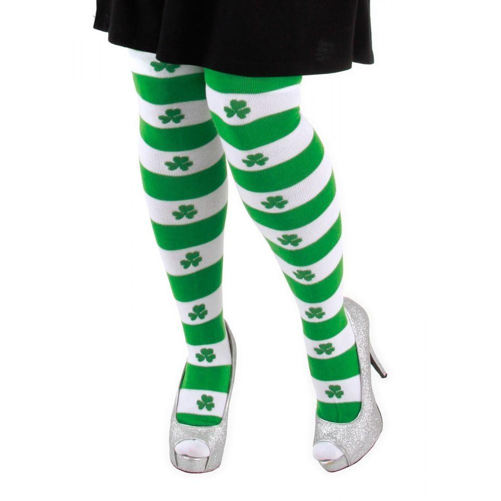 eae0069d Over-the-Knee Shamrock Socks NEW UNISEX St. Patrick's Day Socks ...