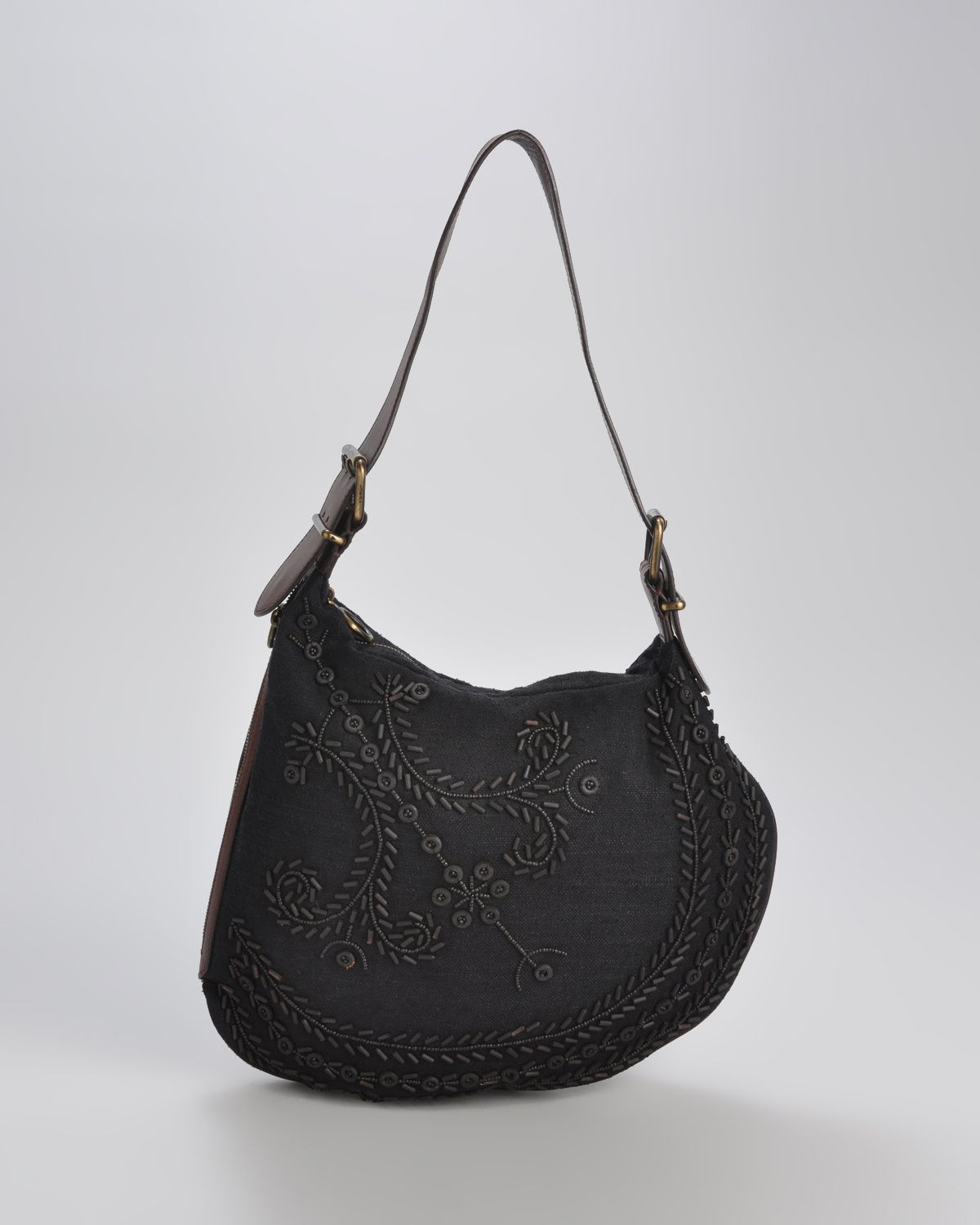 Fendi Rare Limited Edition Embroidered Saddle bag - My old company, I will always follow and love their products and this is one of them!  It is incredibly hard to find!!!