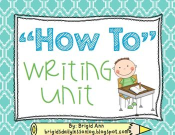 """This packet is perfect to implement into your classroom when you teach """"How To"""" stories!  I have included a few lesson ideas to go along with with this packet.  It includes many templates to help make the learning process easy for students and you!  What you see in the preview is what you get!"""