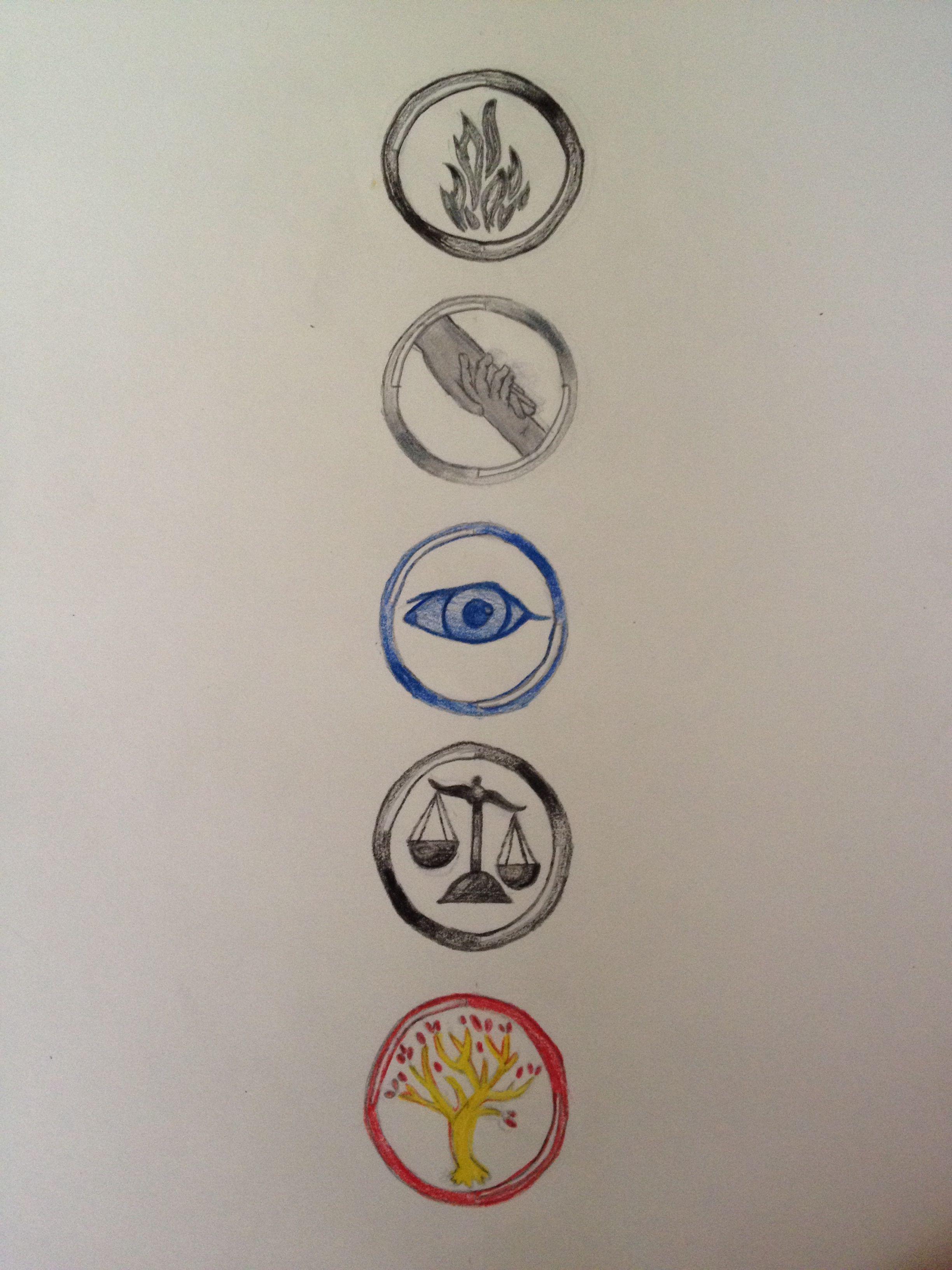 Divergent Faction Drawing! | Divergent factions, Divergent ...