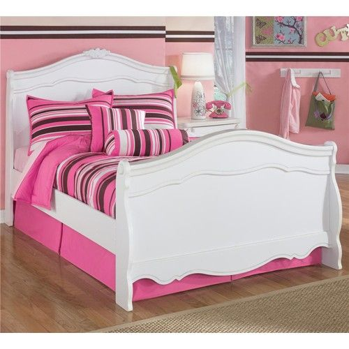 Best Exquisite Full Sleigh Bed With Decorative Shaped Moldings 640 x 480
