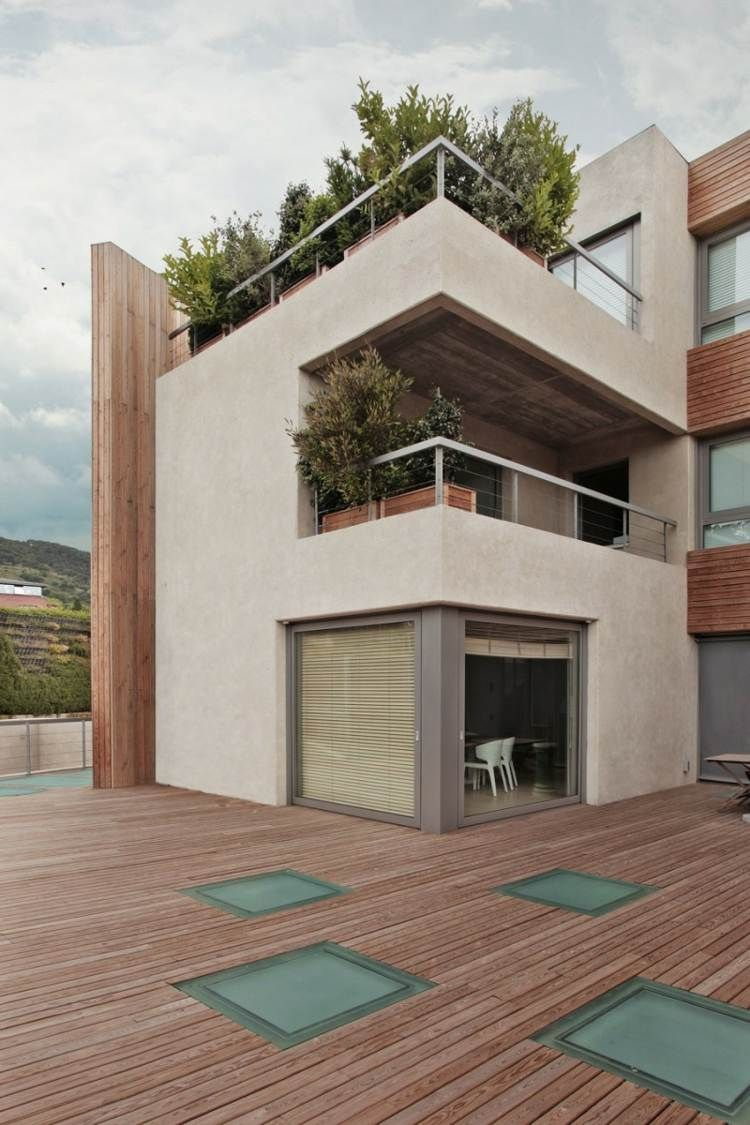 Idée aménagement extérieur: déco de la terrasse en bois | Deko