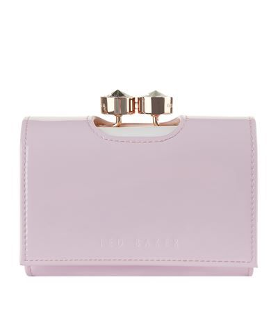 5293e12f5 TED BAKER Turbine Crystal Frame Small Purse.  tedbaker  bags  patent  wallet   metallic  accessories  crystal
