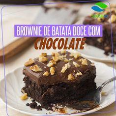 Blog - Brownie de Batata Doce com Chocolate