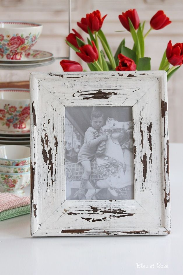 Shabby Chic picture frame | pretty picture Frames | Pinterest ...